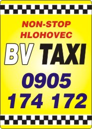 BV TAXI Hlohovec